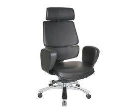 皮质办公椅-01