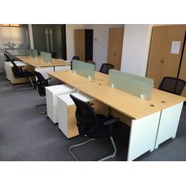 北京汽车4S店办公室家具案例