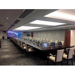 多功能视屏会议室会议桌案例