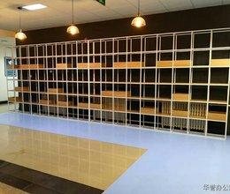 钢木结合展示架、多宝阁-华誉家具